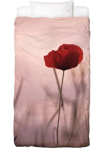 Juniqe Bettwäsche »Rose Papermoon«, In vielen weiteren Designs erhältlich kaufen