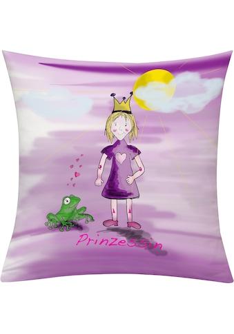 emotion textiles Kissenhülle »Prinzessin Tag« kaufen