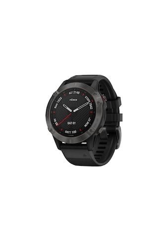 Garmin Fitnessuhr »GPS-Sportuhr fenix 6 Sapphire Schwarz« ( kaufen
