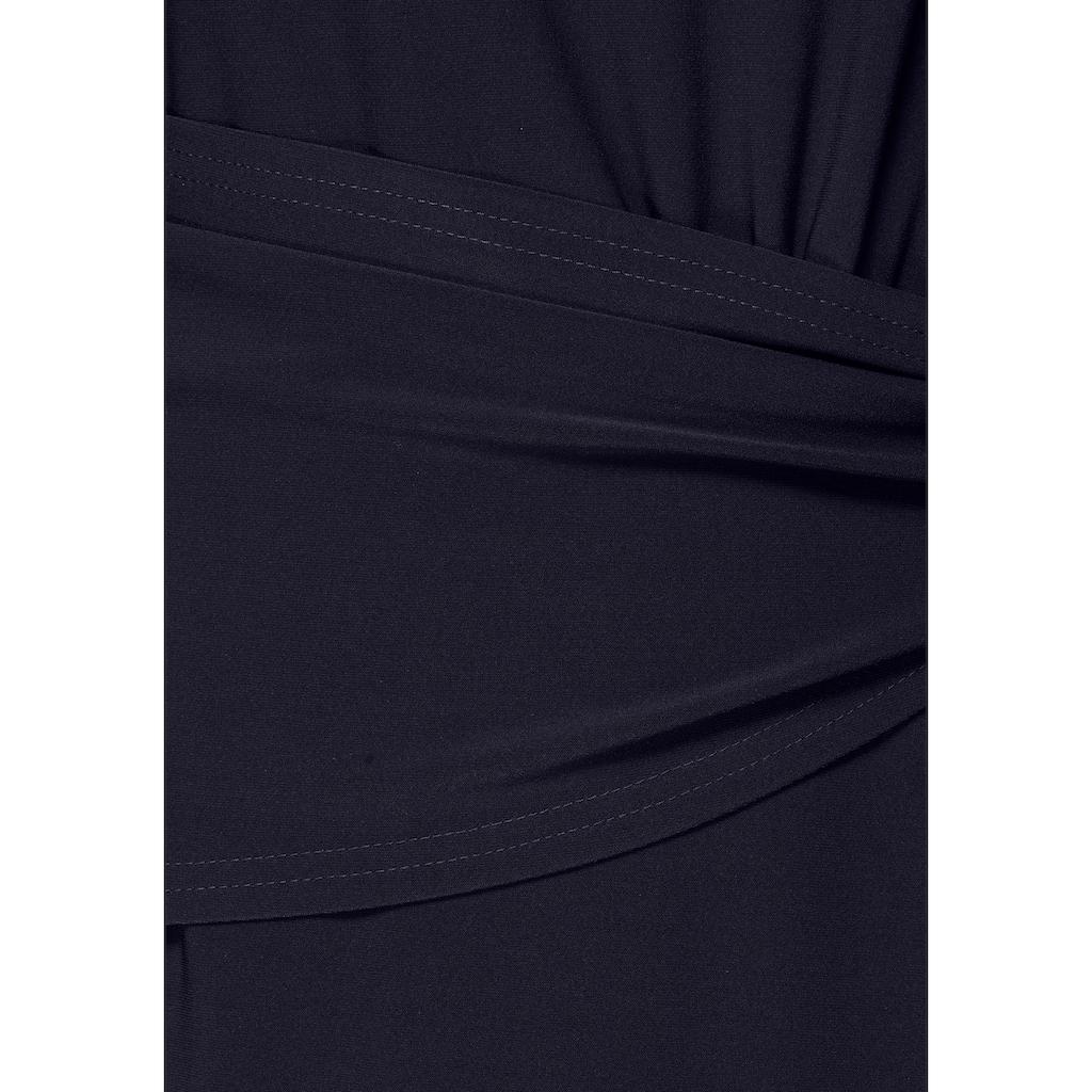 select! By Hermann Lange Etuikleid, mit dekorativen Raffungen, aus elegantem Jersey