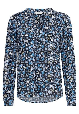 b.young Langarmbluse »b.young Damen Langarmbluse mit Print«, Blusenshirt mit Print kaufen