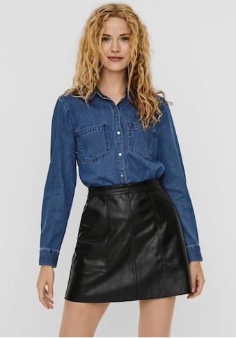 Vero Moda Jeansbluse »VMMILA«, aus Bio-Baumwolle kaufen