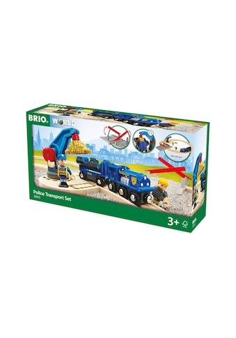BRIO® Spielzeug-Auto »Polizei Goldfarbentransport-Set« kaufen