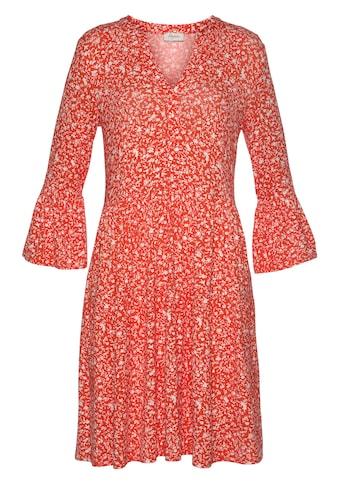 Boysen's Jerseykleid, mit Volants kaufen