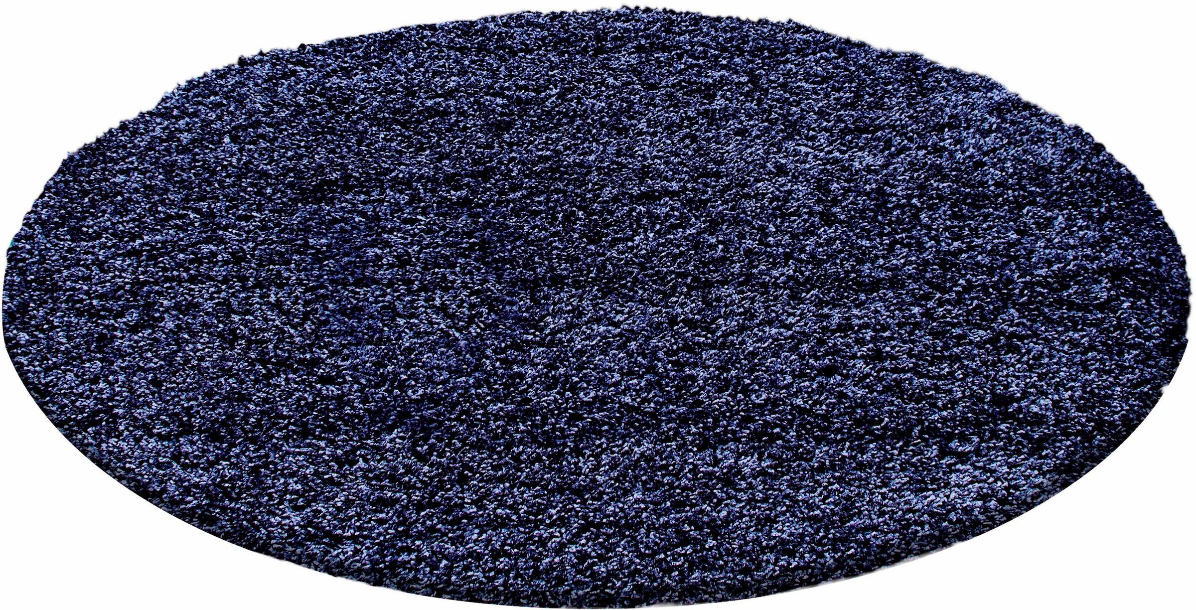 Image of Ayyildiz Hochflor-Teppich »Life Shaggy 1500«, rund, 30 mm Höhe, Wohnzimmer
