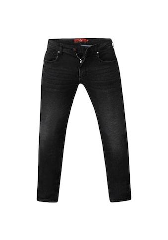 Duke Clothing Stretch-Jeans »Herren Benson, Tapered Fit, King Size« kaufen