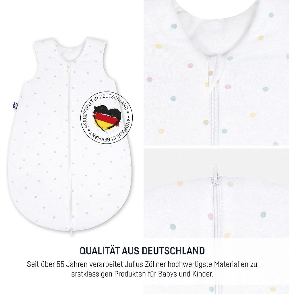 Julius Zöllner Babyschlafsack »Colour Dots«, (1 tlg.)