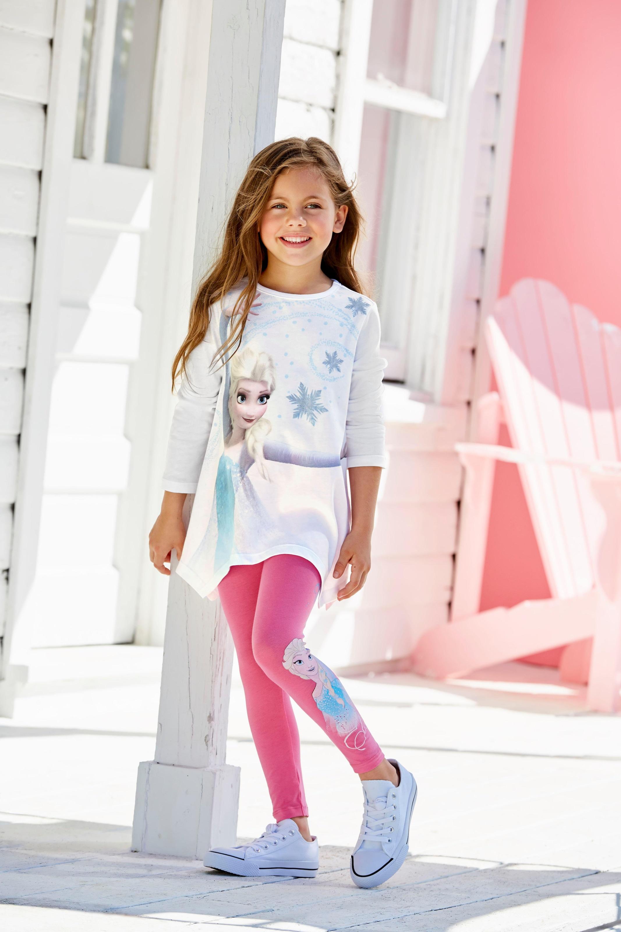Motiv Frozen Leggings Anna und Elsa Disney Anna/&Elsa