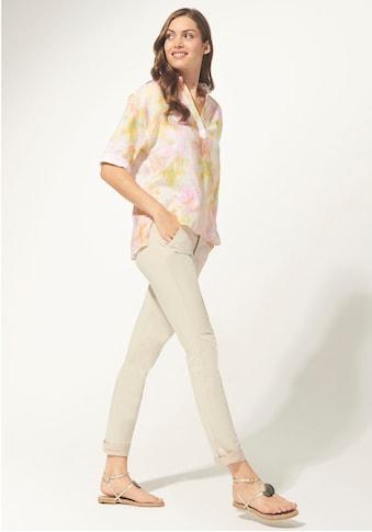 Daniel Hechter Druckbluse, in pastellfarbenem Batikdruck kaufen
