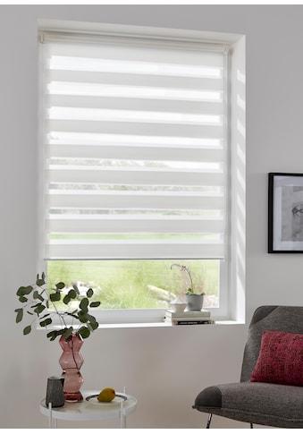 my home Doppelrollo »MARANO«, Lichtschutz, ohne Bohren, freihängend, im Fixmass, Rollo mit Klemmträger, mit über 3.200 positive Bewertungen kaufen