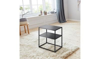 andas Nachttisch »Vilho«, aus einem schönen weissen Metallgestell und einer Ablegemöglichkeit kaufen