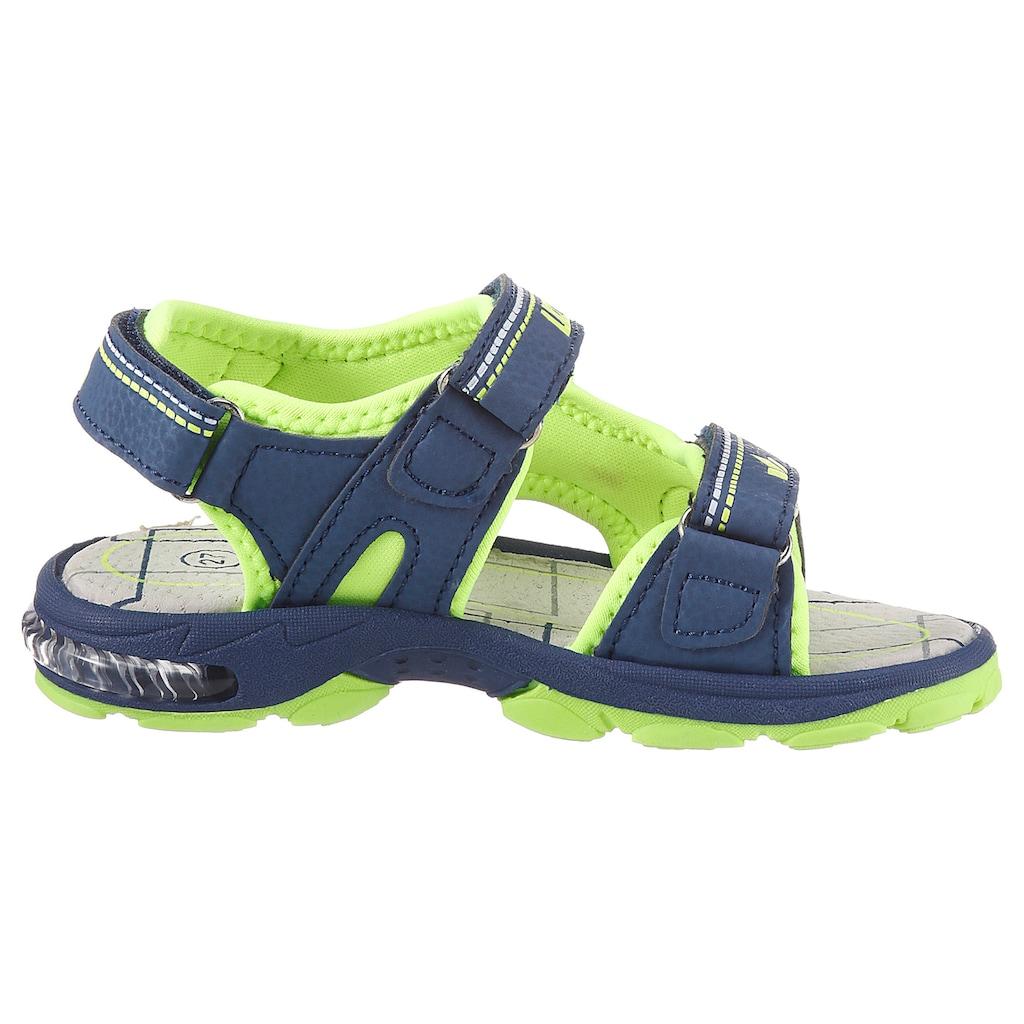 Lico Sandale »Blinkschuh Spotlight«, mit cooler Blickfunktion
