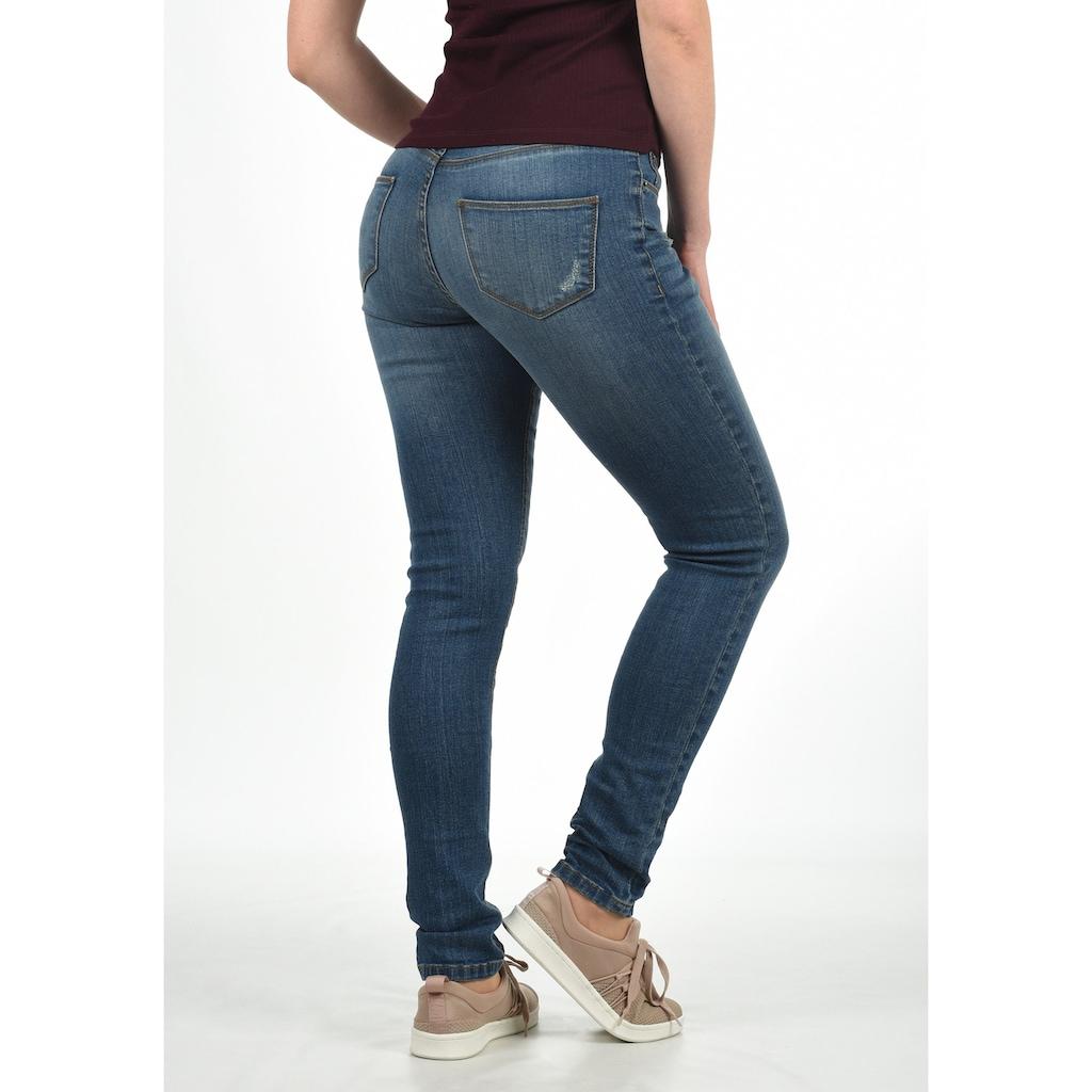 Blendshe 5-Pocket-Jeans »Adriana«, Denim Hose in verwaschener Optik