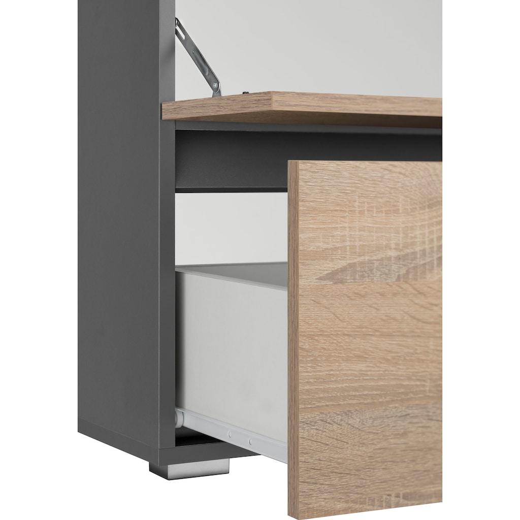 Home affaire Waschbeckenunterschrank »Wisla«, Breite 60 cm, oben Klappe & unten grosser Auszug