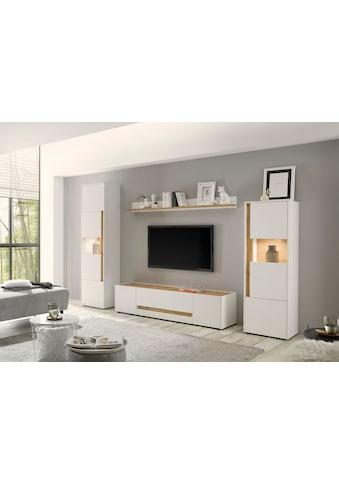 INOSIGN Wohnwand »CiTY Kombi 19«, (Set, 4 St.), Breite ca. 310 cm kaufen