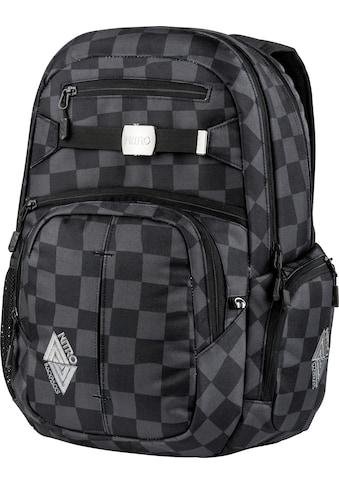 NITRO Schulrucksack »Hero, Black Checker«, mit Laptopfach kaufen