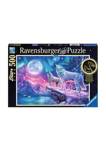 Ravensburger Puzzle »Wolf im Nordlicht« kaufen