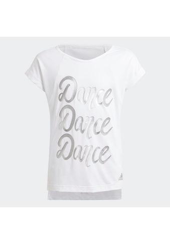 adidas Performance T-Shirt »GIRLS AEROREADY DANCE TEE« kaufen