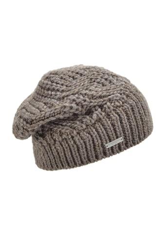 Seeberger Strickmütze »lässige Mütze in besonderem Muster 18614-2« kaufen