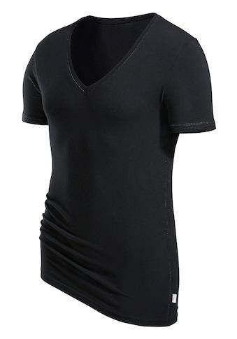 s.Oliver T-Shirt, mit tiefem V-Ausschnitt kaufen