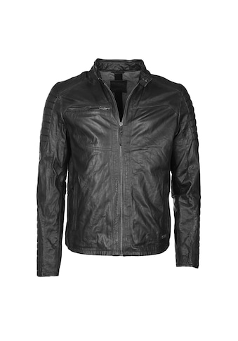 MUSTANG Lederjacke in vintage brown »Garry« kaufen