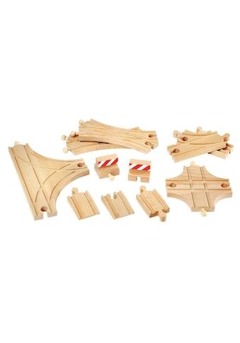 BRIO® Spielzeugeisenbahn-Schiene »BRIO® Ergänzungsset Holzschienensystem, »Brio WORLD... kaufen
