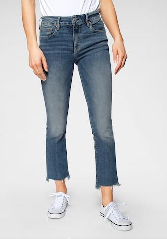 Herrlicher 7/8-Jeans »SUPER G BOOT CROPPED«, mit ausgefransten Säumen kaufen