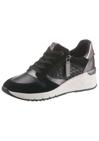 Tamaris Wedgesneaker »Rea«, mit Metallic-Details kaufen