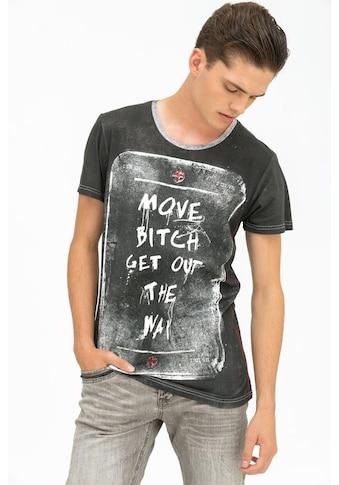 trueprodigy T-Shirt »Move…«, mit Statement-Print kaufen