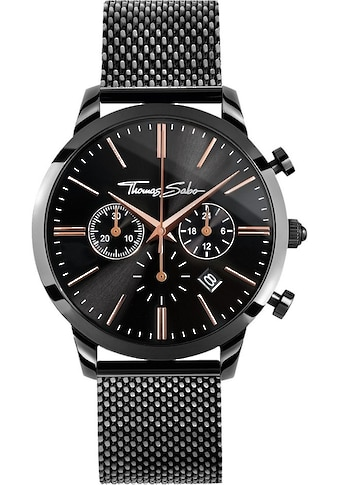 THOMAS SABO Chronograph »REBEL SPIRIT CHRONO, WA0247 - 202 - 203« kaufen