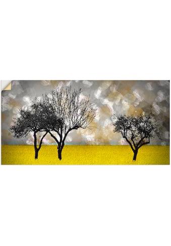 Artland Wandbild »Landschaft«, Bäume, (1 St.), in vielen Grössen & Produktarten -... kaufen