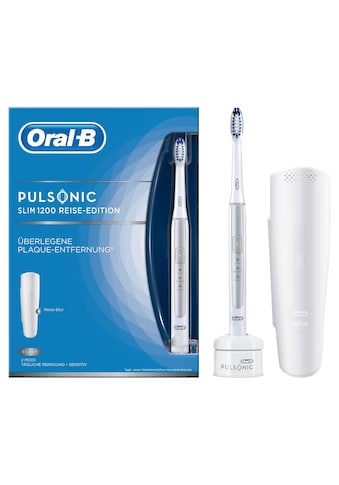 Oral B Schallzahnbürste Pulsonic Slim 1200, Aufsteckbürsten: 1 Stk. kaufen