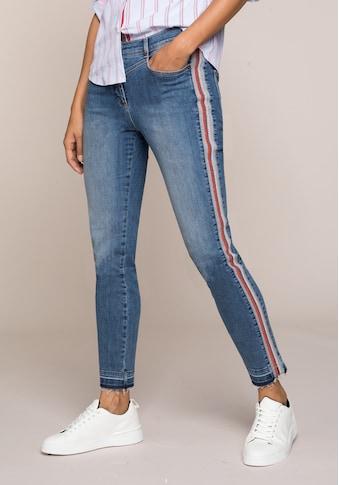 bianca 5-Pocket-Jeans »SHAPE«, coole Denim-Waschung und Galonstreifen kaufen