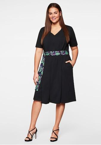 Sheego Jerseykleid, in Lagenoptik kaufen