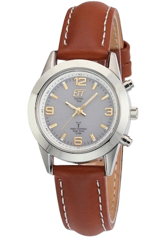 ETT Funkuhr »Gobi, ELS-11268-11LE«, (Set, 2 tlg., Uhr mit Ladelampe) kaufen