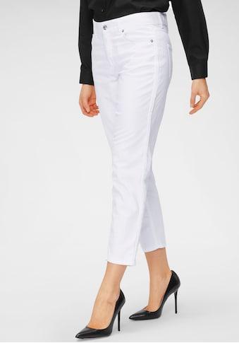 MAC 7/8-Jeans »Melanie-Cropped«, Dekorative Biesen an den Seitennähten kaufen