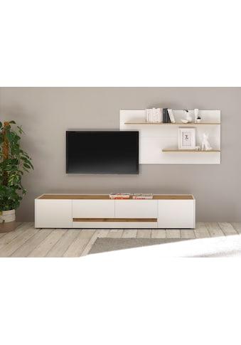 INOSIGN Wohnwand »CiTY Kombi 15«, (Set, 2 St.), Breite ca. 300 cm kaufen