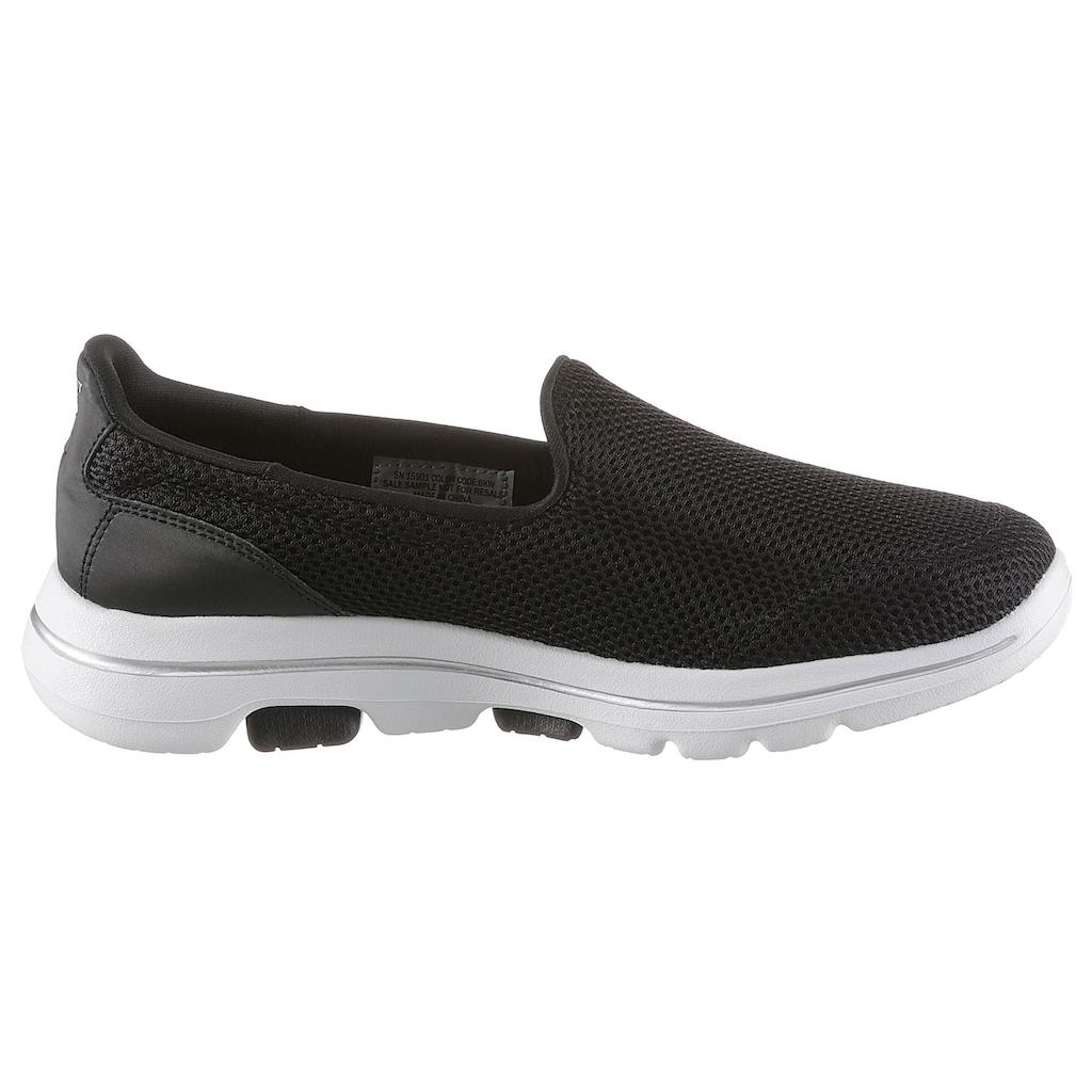 Skechers Slip-On Sneaker »Go Walk 5«, mit Air Cooled Goga Mat