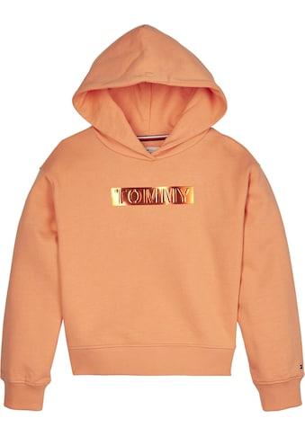 TOMMY HILFIGER Kapuzensweatshirt »TOMMY FOIL LABEL HOODIE« kaufen