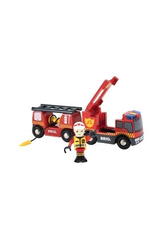 BRIO® Spielzeugeisenbahn-Erweiterung »Light & Sound Feuerwehr-Leiterfahrzeug« kaufen