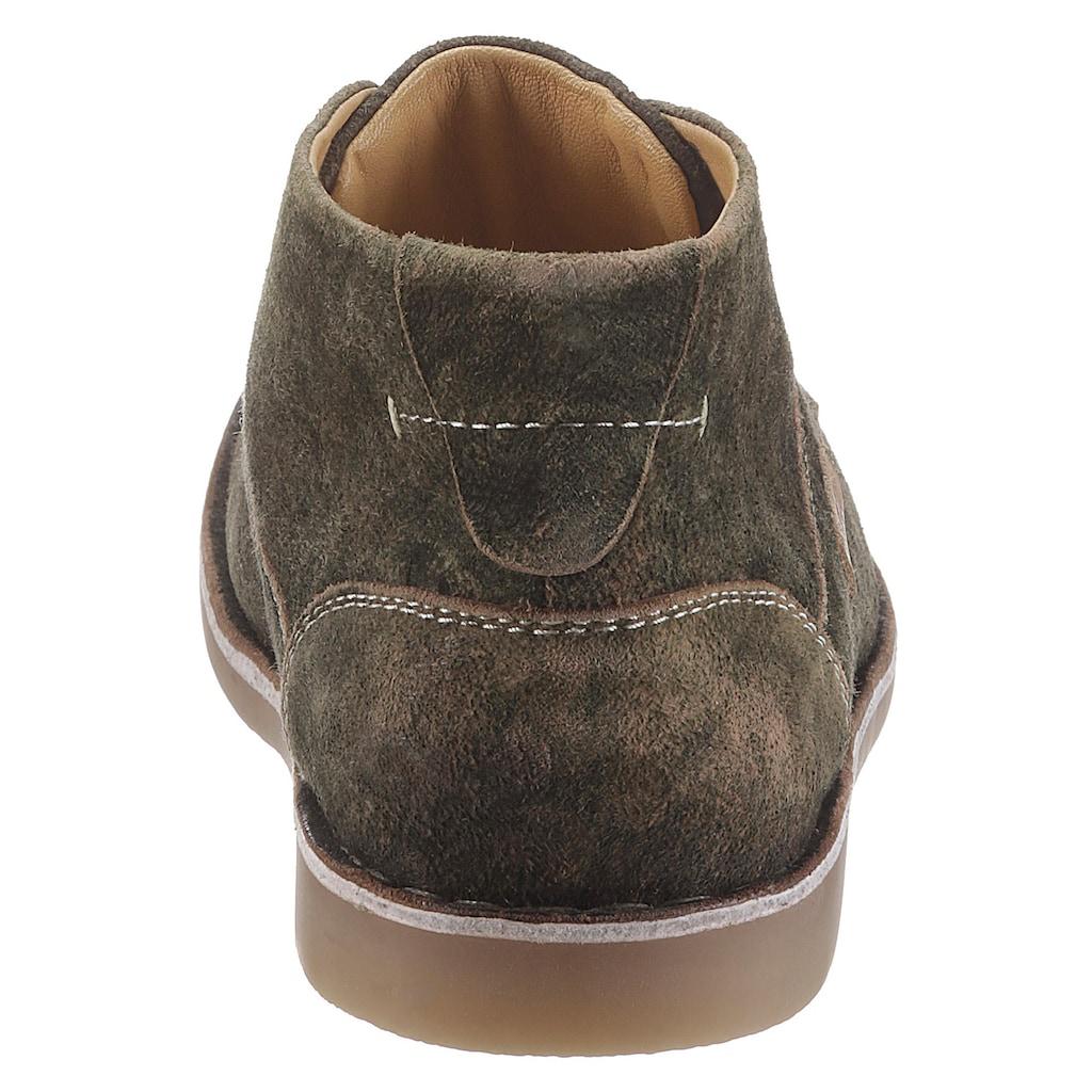 MarJo Schnürschuh, mit Markenlabel aus Leder