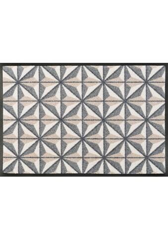 wash+dry by Kleen-Tex Fussmatte »Kubus«, rechteckig, 7 mm Höhe, Schmutzfangmatte kaufen