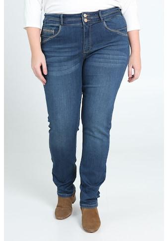 Paprika Slim-fit-Jeans »Hosenende umgeschlagen«, verwaschen kaufen
