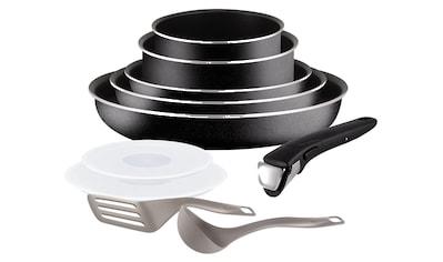 Tefal Pfannen-Set »Ingenio Essential«, Aluminium, (Set, 10 tlg.) kaufen