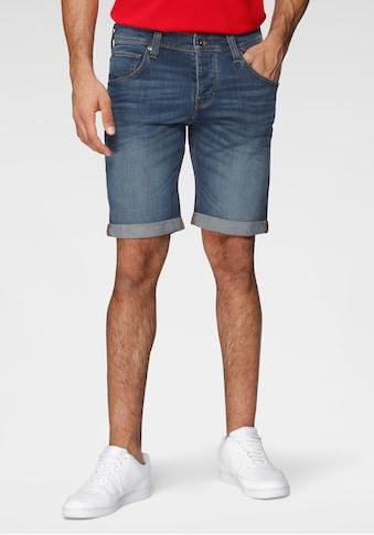MUSTANG Shorts, mit leichten Abriebeffekten kaufen