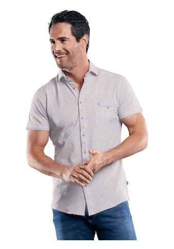 Engbers Baumwollhemd mit Minimal-Druck kaufen