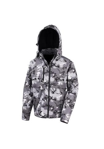 Result Softshelljacke »Core Herren Camo TX Performance Softshell Jacke mit Kapuze« kaufen