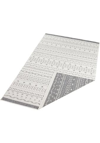 bougari Teppich »Kuba«, rechteckig, 5 mm Höhe, In- und Outdoor geeignet, Wendeteppich,... kaufen