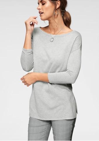 Laura Scott Longpullover, mit Seitenschlitzen kaufen