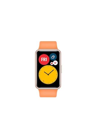 Huawei Smartwatch »Fit Cantaloupe Orange«,  kaufen